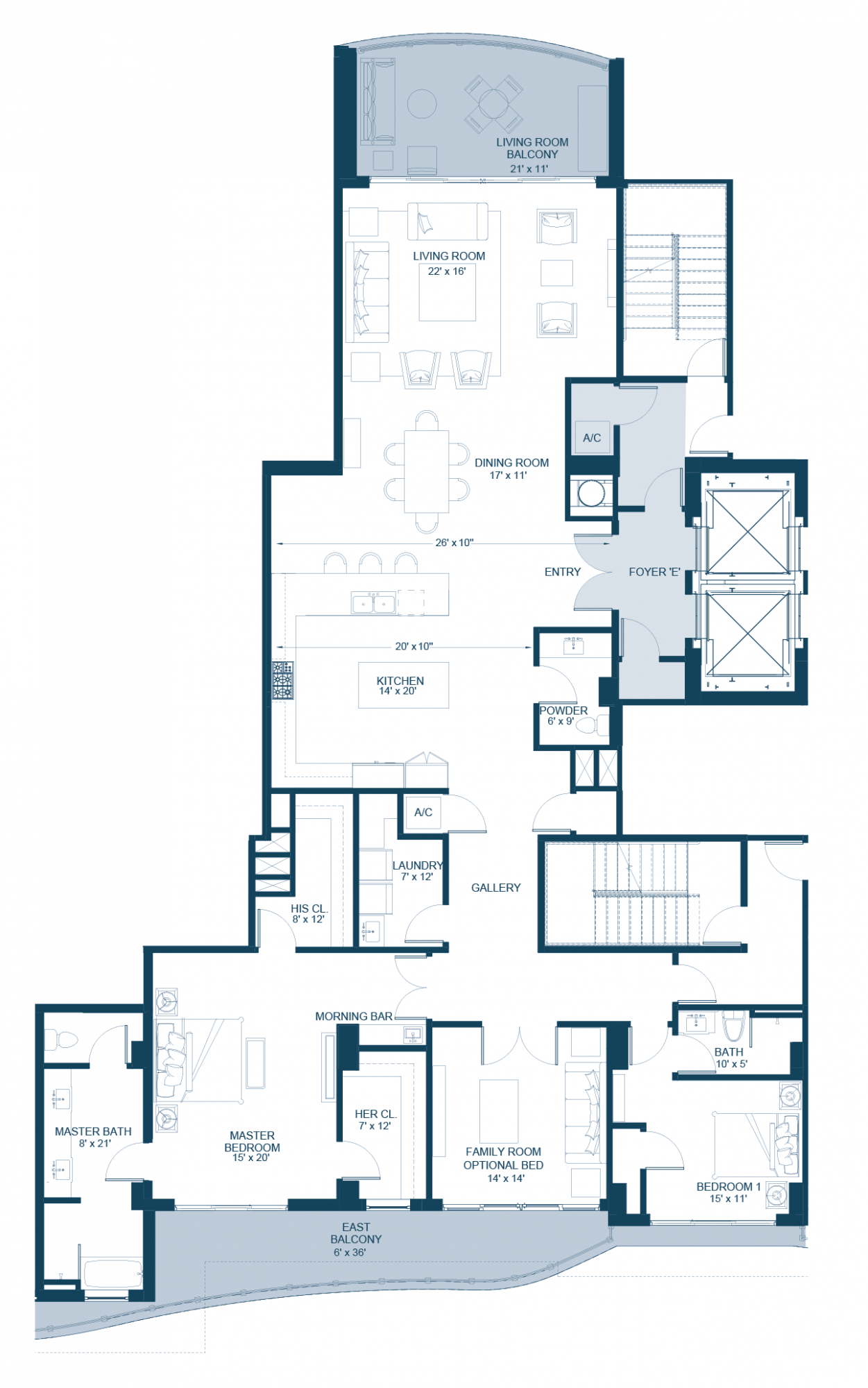The Mediterranean Floorplan